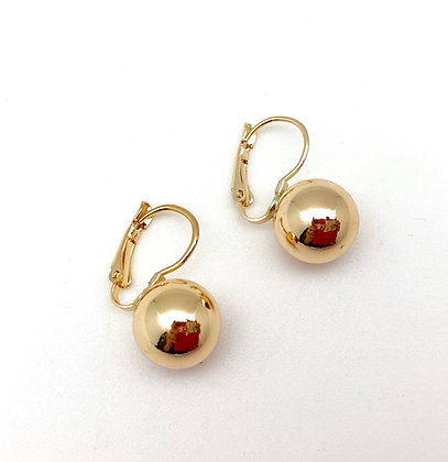 H118 Perfect Size Ball Earrings Medium, Best Selling