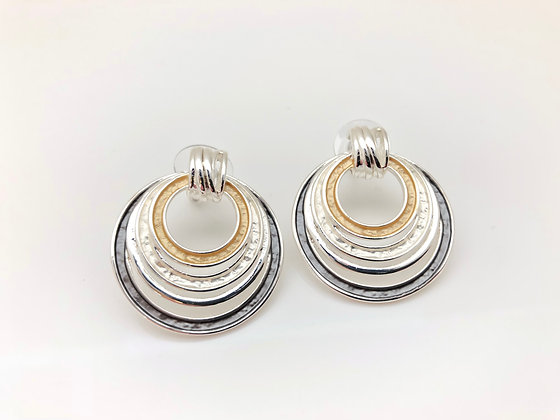 SE17 Tritone Post Earrings