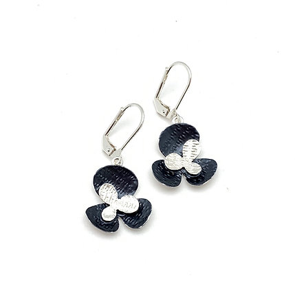 SE30 Sakura Grey Combination Earrings