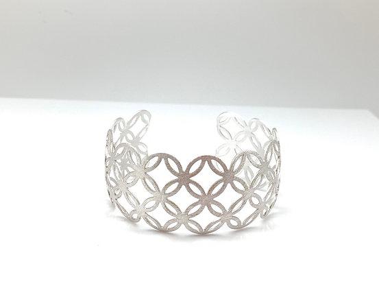 BS44 Silver Lace Bracelet