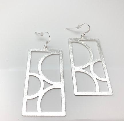 ES349 Silver Stain Glass Windows