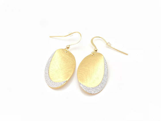 EG219 Restocked! Gold Hanabira Earrings