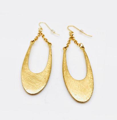 EG165 Gold Swing Earrings