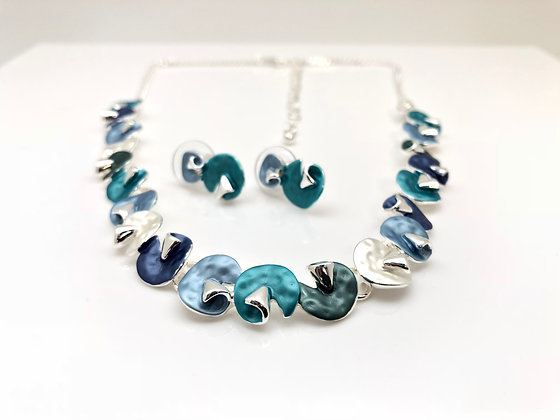 #58 New! Endless Summer Necklace Earrings Set
