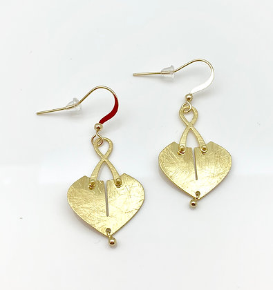 EG310 Gold Pocket Earrings