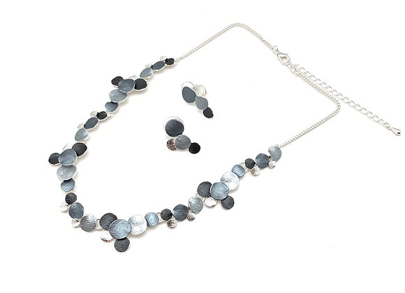 #111 Rain Bubbles Grey Color Set