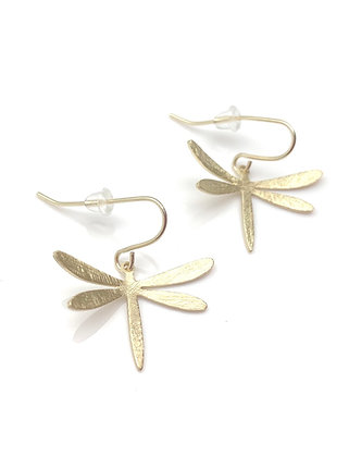 EG334 Gold Tombo Earrings