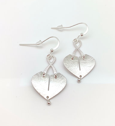 ES311 Silver Pocket Earrings