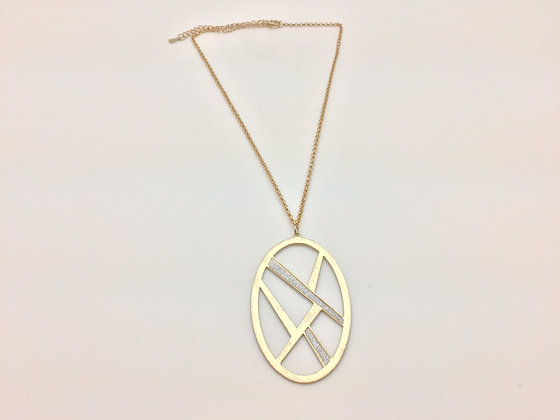 NG29 Sale $6 Final Price Gold Geometric N