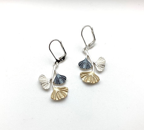 SE40 Gingko Classic Color Earrings