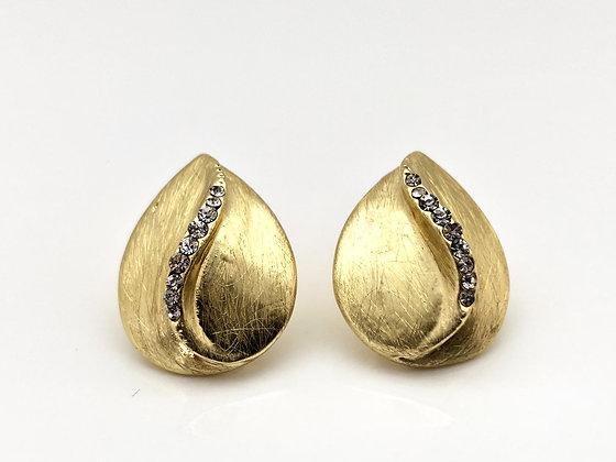 EG295  Gold Momo Earrings