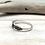 Thumbnail: SR12 Dots Weave Silver Ring Size 4-10