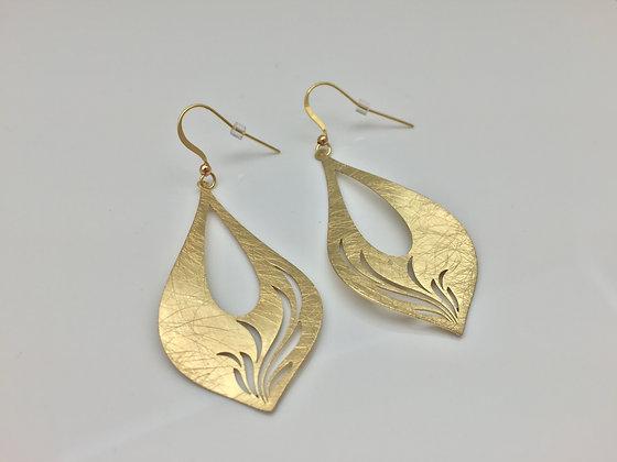EG 7. Gold Wind Earring