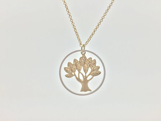 NS19 Final Price $10 Tree Of Life Necklace