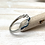 Thumbnail: SR22 Silver Turquoise Ring Twist size 4-10