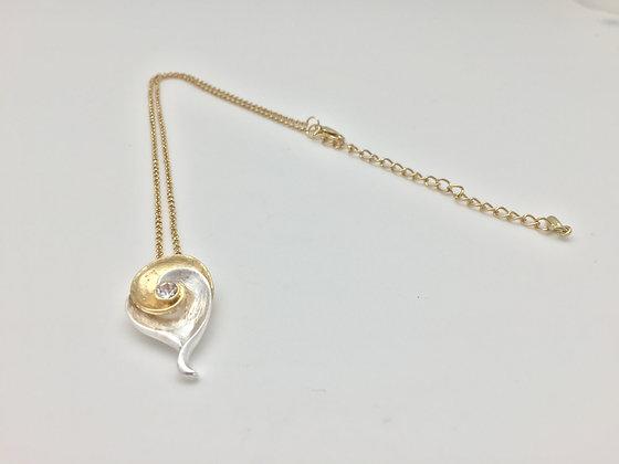 NG 4.Gold  Two Tone Bara Necklace
