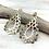 Thumbnail: H167 Gold TurquoiseLotus Earrings