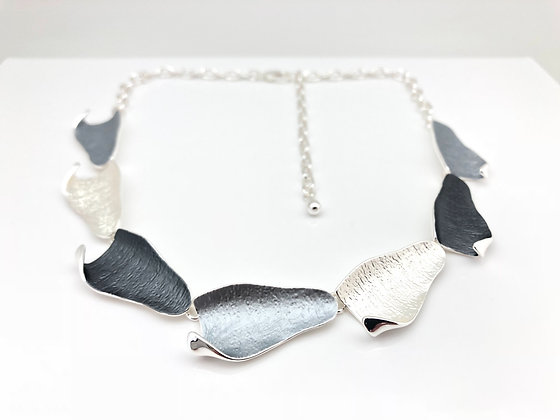 NS3 Ombre Grey Necklace