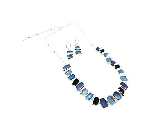 #121 Blocks Tumiki Blue Combination Set