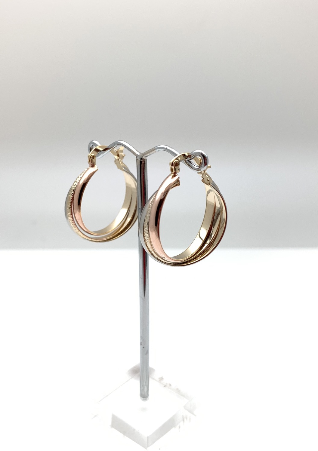 H126 Tricolor Small Medium Hoop, Best Selling