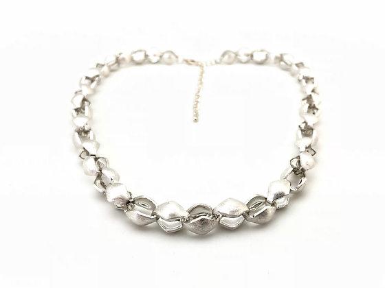 NS57 Silver HIshigata Necklace