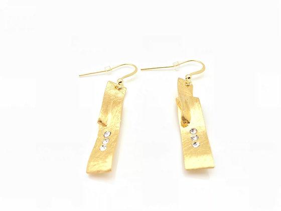 EG221 Classic! Gold Tumiki Earrings