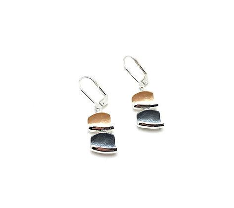 SE37 Blocks Tumiki Classic Color Earrings