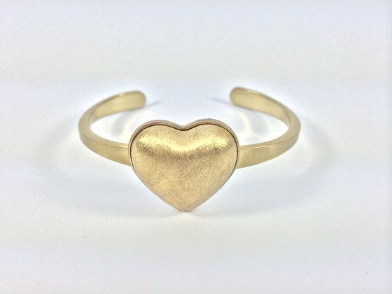 Gold Heart Bracelet SALE ITEM B100 $6 FINAL PRICE