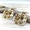 Thumbnail: H165 Happy Flower Earrings