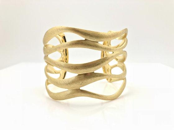 BG41 Gold Nami Cuff