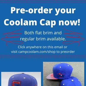 Pre-order SALE!!! Coolam Cap - Coming Summer 2021