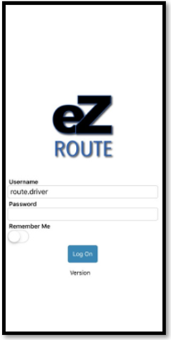 30. Route App Login.PNG