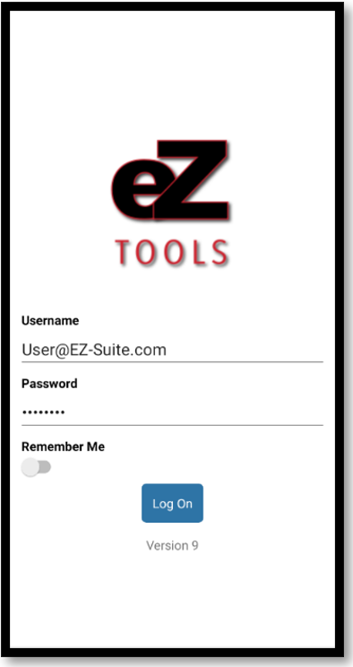 EZ Runner Tools login.PNG