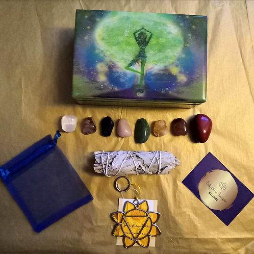Seven Chakra Balancing Gift Box