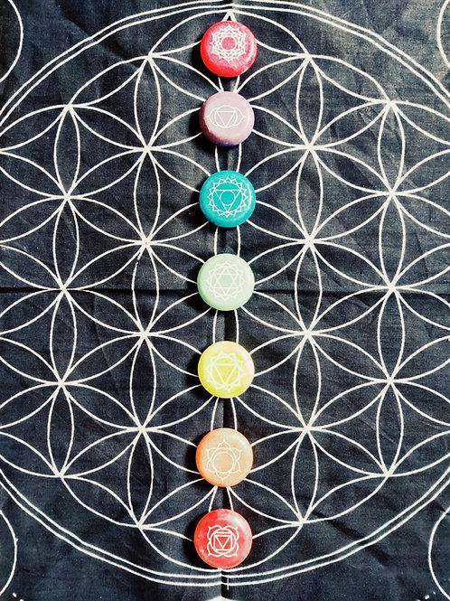 Chakra Balancing Meditation Stones