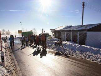 Geeeiiiles Winterwetter für 200 Radler