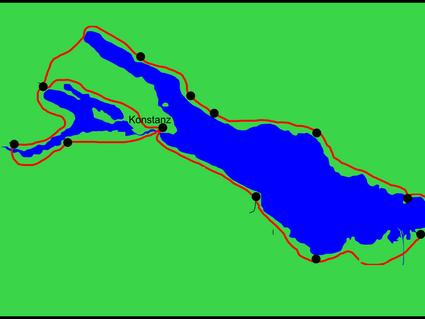 Bodensee-Rundfahrt mit Frank & Ellen