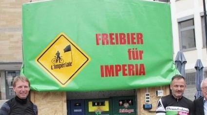 Freibier für Imperia / Start Samstag 2:30