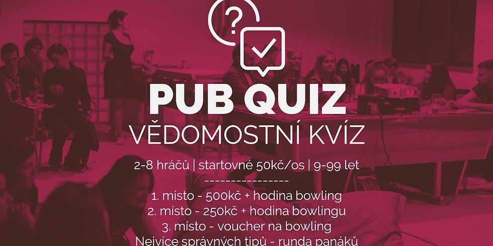 Pub Quiz No.13 - Vědomostní kvíz