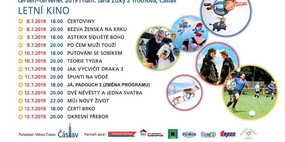 Letní kino - Námestí Čáslav