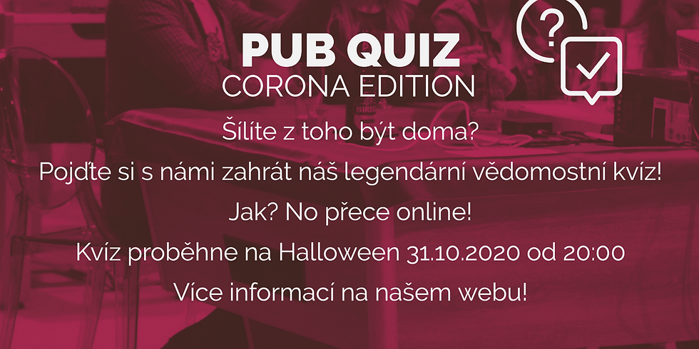 Pub Quiz Corona Edition!
