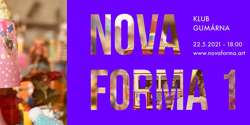 Vernisáž Nova Forma 1 s hudebním vystoupením