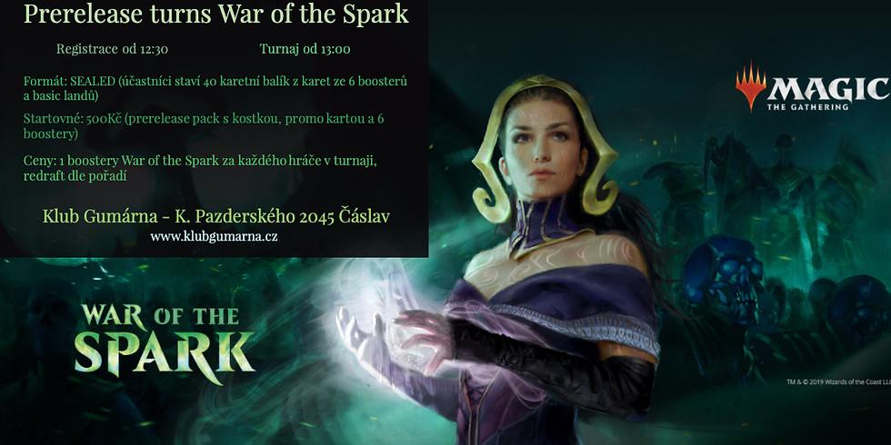 Prerelease War of the Spark turnaj v Magic the Gathering