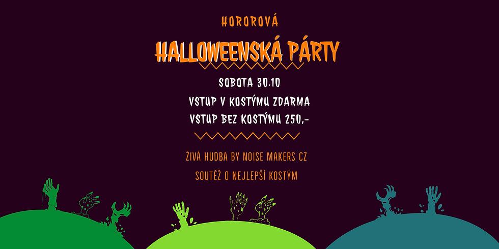 Horrorová Halloweenská párty!
