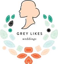 Featured on Grey Likes Weddings!