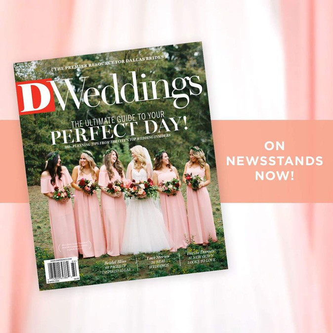 Cover of D Weddings Magazine Winter Issue 2016