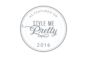 Featured on Style Me Pretty!