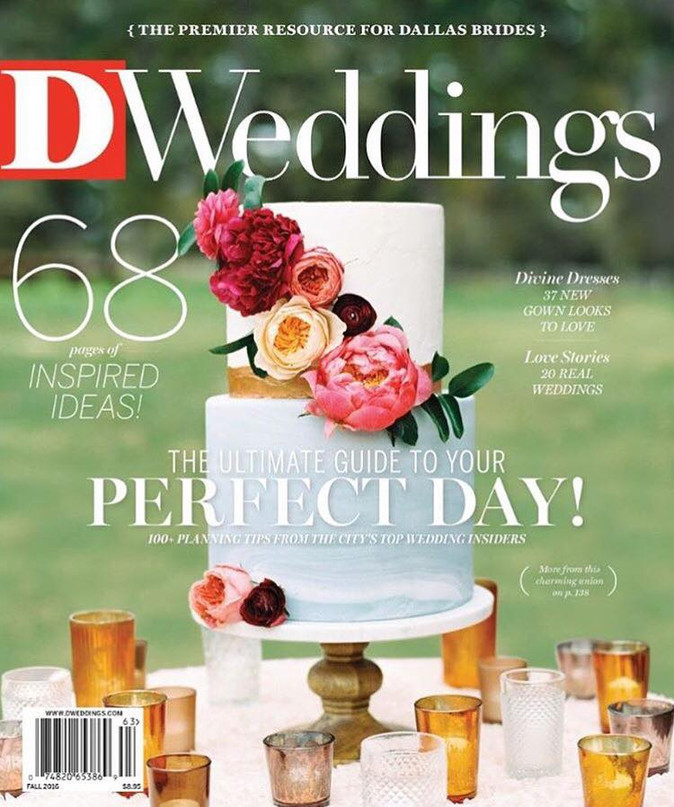 Featured in D Weddings Magazine