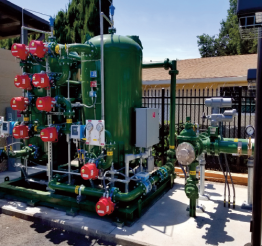 The City Of East Palo Alto Commissions 300 GPM Manganese Removal System