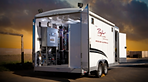 Mobile Pilot Filter Laboratory, pilot filter, mobile water lab, mobile water laboratory